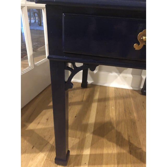 Chippendale 1970s Vintage Henredon Chippendale Side Table For Sale - Image 3 of 10