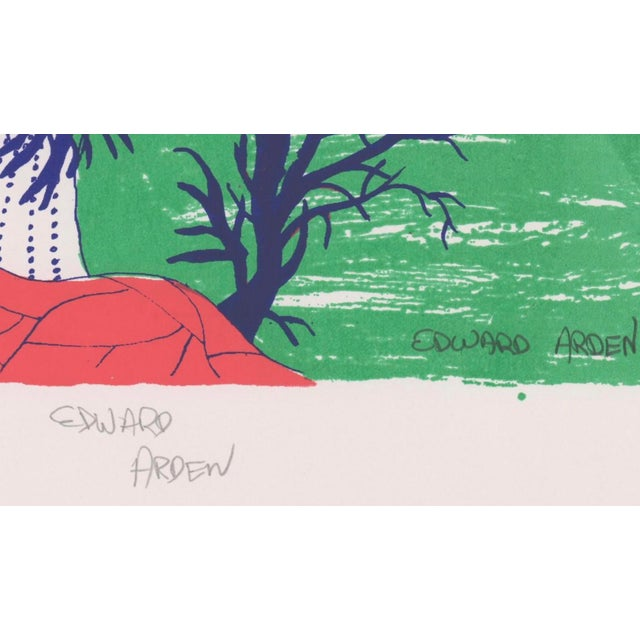 1990s Edward Arden Under the Sea Lithograph For Sale - Image 4 of 7
