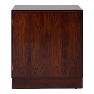 Small Danish Modern Rosewood Cabinet by Omann Jun For Sale