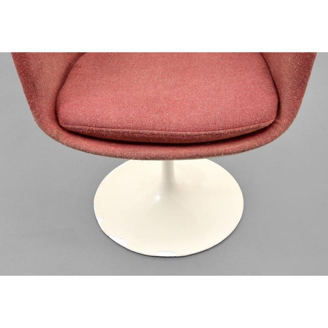 Eero Saarinen for Knoll Inc Tulip Arm Chairs, Set of 4 - Image 4 of 9