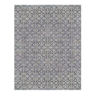 "Mansour Fine Handwoven Modern Rug - 8'3"" X 9'7"" For Sale"