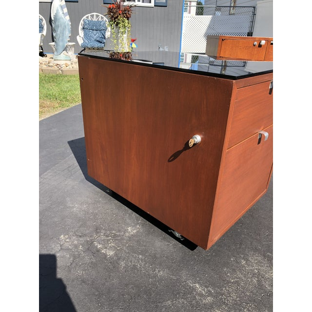 Mid-Century Modern 1950s George Nelson for Herman Miller Mid Century Modern Filing Cabinet For Sale - Image 3 of 13