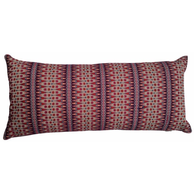 Audrey Fit Lumbar Embroidered Pillow - Image 1 of 2