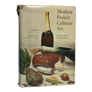 1966 Vintage Modern French Culinary Art Cook Book
