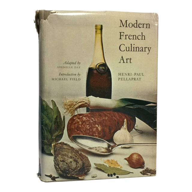 1966 Vintage Modern French Culinary Art Cook Book For Sale