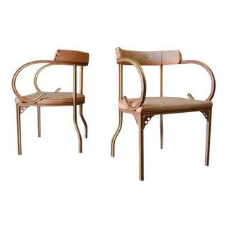 Pair of Armchairs by John Van Koert for Troy Sunshade, Ca. 1955 For Sale