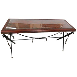 Empire Style Console Table For Sale