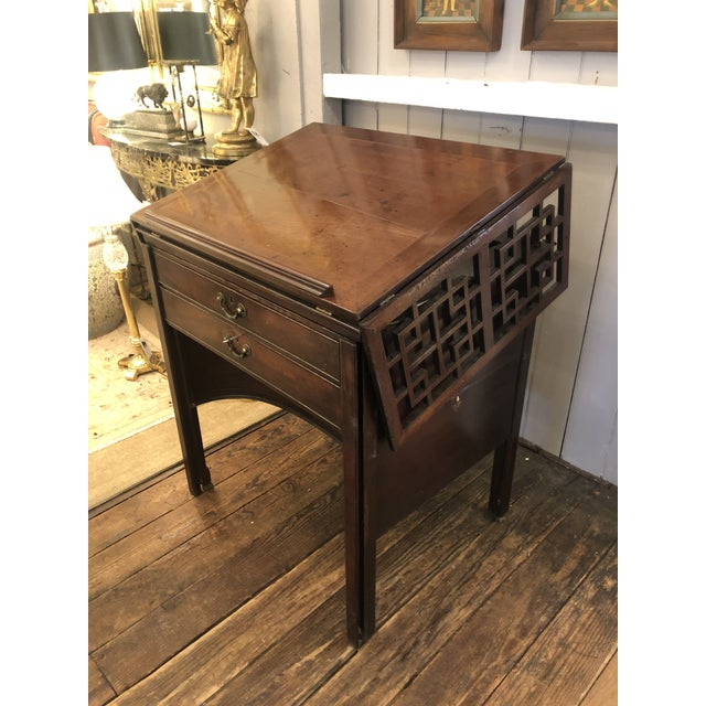 Rare 19th Century Mahogany Mechanical Architect's Desk For Sale - Image 13 of 13