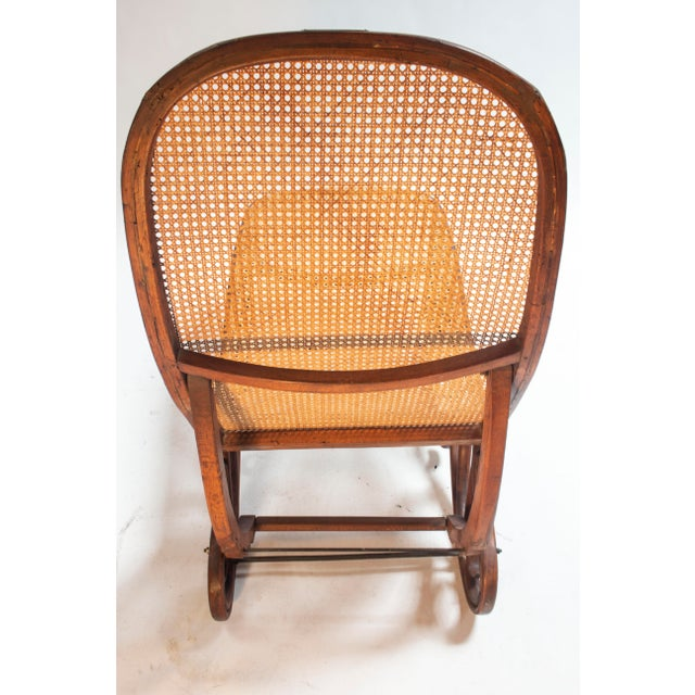 Gebruder Thonet Bentwood Chaise Lounge Barcelona For Sale - Image 4 of 5