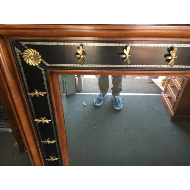 Empire Theodore Alexander Empire Style Mirror For Sale - Image 3 of 6