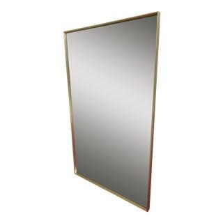 John Stuart Mid-Century Beveled Glass Mirror For Sale