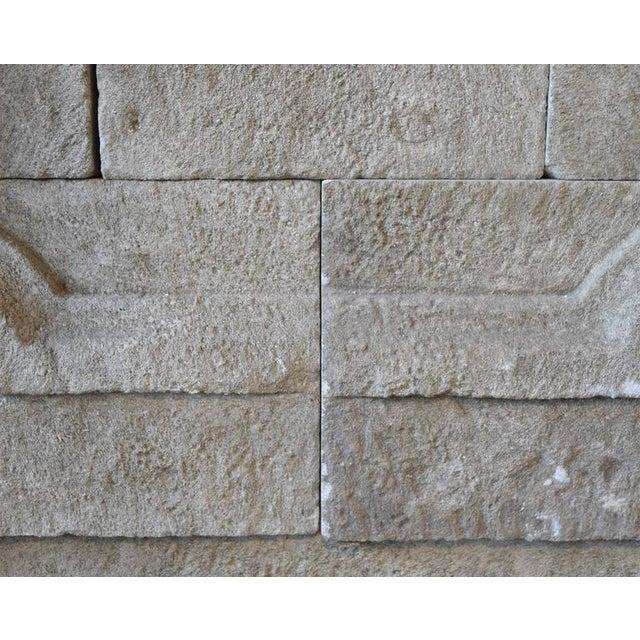 Limestone Wall Fountain - Image 5 of 6