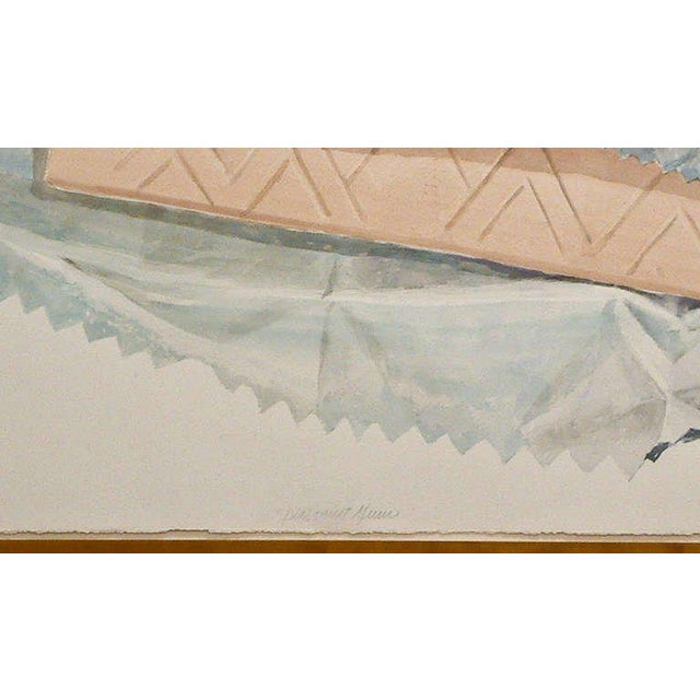 "Don Nice ""Spearmint Gum"" Watercolor on Arches Paper 1973 - Image 4 of 6"