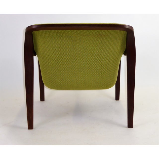 1970s Vintage Bill Stephens For Knoll International Club Lounge Chair For Sale In Miami - Image 6 of 12