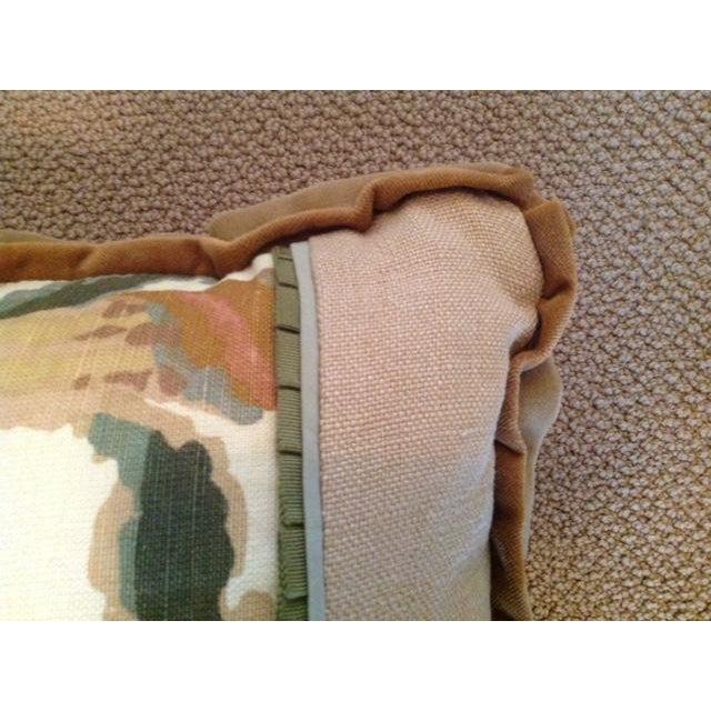 Custom Designed Lumbar Pillows - Pair - Image 8 of 8