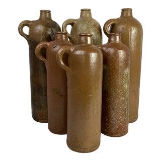 English Cider Bottles - Set of 6 For Sale