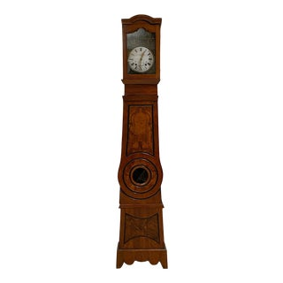 French Long Case or Mobier Clock For Sale