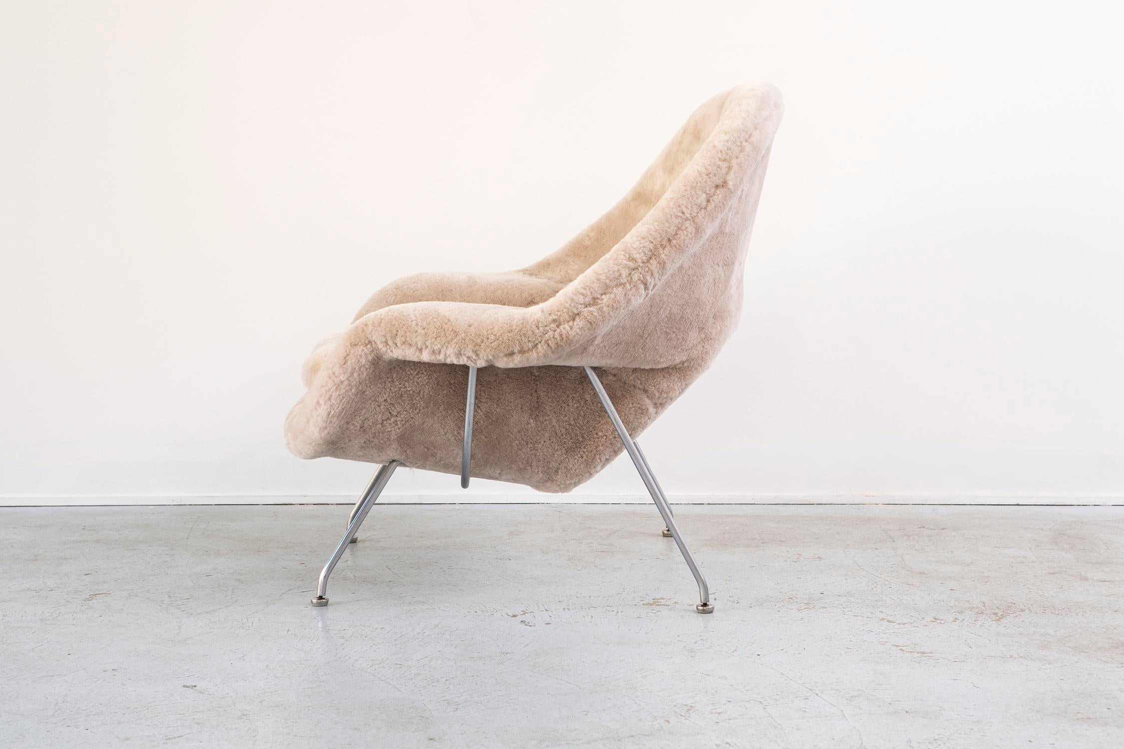 Chaise saarinen knoll top midcentury tulip swivel chairs for Chaise knoll tulipe occasion