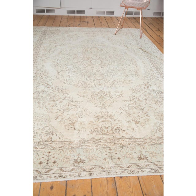 "Vintage Oushak Carpet - 6'10"" x 10'2"" - Image 8 of 12"