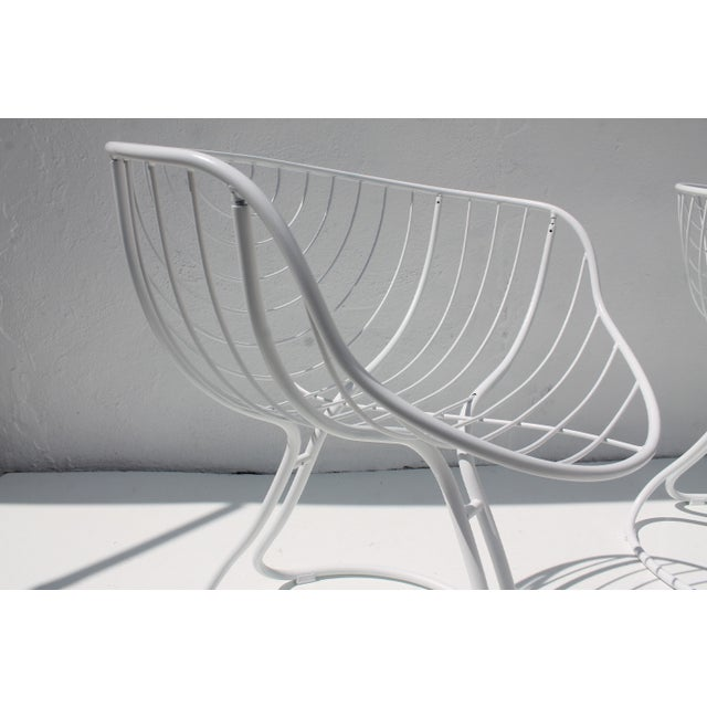 "Italian ""Pan Am"" Logo Chairs - A Pair - Image 8 of 11"