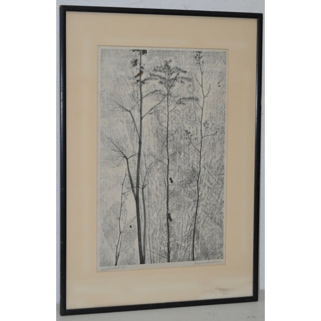 Eugene Larkin Weed Forest No. 1 Woodcut, C.1960 - Image 2 of 6