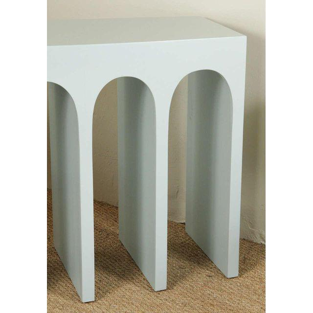 Contemporary Minimalist Martin & Brockett Arcade Console For Sale - Image 3 of 7