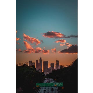Jason Mageau Downtown Los Angeles Sunset Photograph For Sale