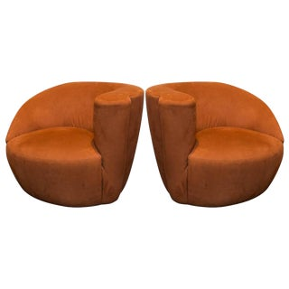 Vladimir Kagan Nautilus Chairs - A Pair