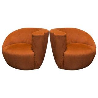 Vladimir Kagan Nautilus Chairs - A Pair