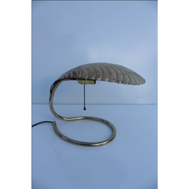 Curved Leaf Reading Lamp - Image 6 of 8