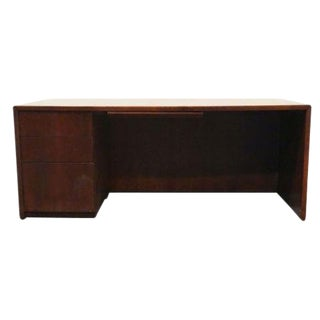 Mid-Century Modern Kimball International Workstation Desk For Sale
