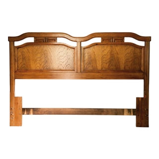 1940s Thomasville Chinoiserie Queen Headboard For Sale