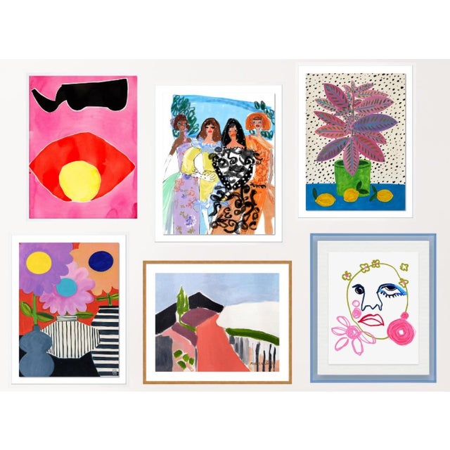 Bleecker Gallery Wall, Set of 6 For Sale - Image 11 of 11