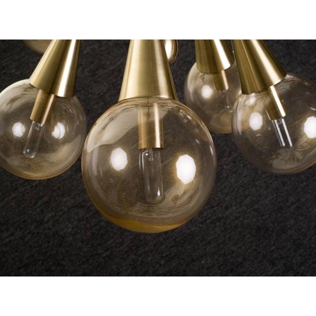 Sputnik Chandelier For Sale - Image 9 of 11