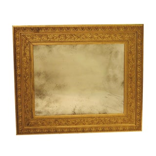 Late 19th Century Huge Antique Italian Mirror For Sale