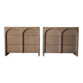 Rare Pair of Colosseum Cabinets by Widdicomb For Sale