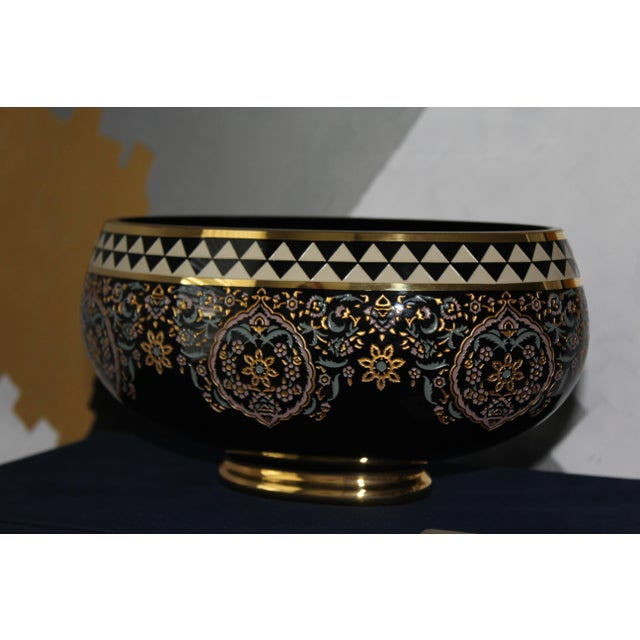 2010s Turkish Ottoman Decorative Bowl For Sale - Image 5 of 5