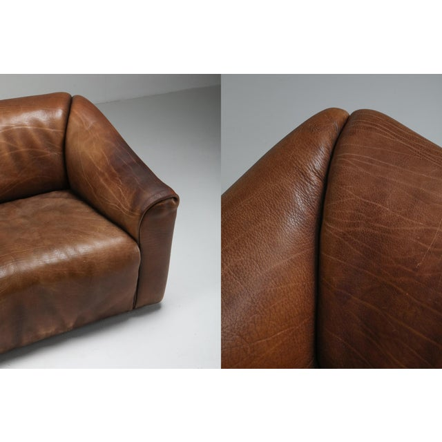 1970s De Sede Ds 47 Brown Leather Armchair For Sale - Image 9 of 10