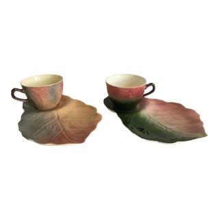 1940s English Tea & Toast Set - a Pair For Sale
