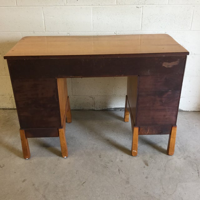 Heywood-Wakefield Early Heywood-Wakefield Style Desk For Sale - Image 4 of 13