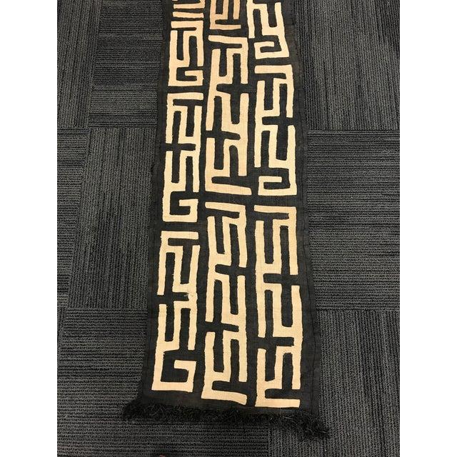 African Art Tribal Art Handwoven Kuba Cloth - Image 3 of 9