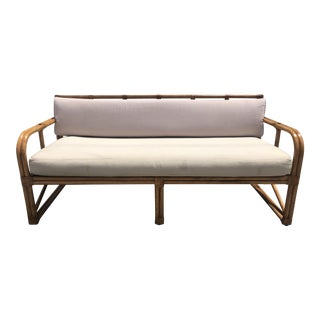 The Raleigh Hotel Miami Bamboo Sofa For Sale