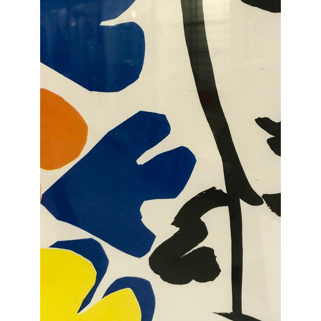 Modern Original Henri Matisse 1953 Exhibition Poster from Tate Gallery For Sale - Image 3 of 7