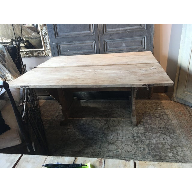 Antique Swiss Money Changing Table - Image 10 of 13