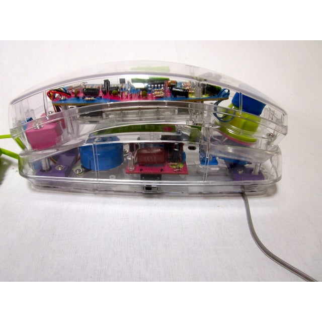 Lucite Mod Retro Telephone Phone - Image 2 of 7