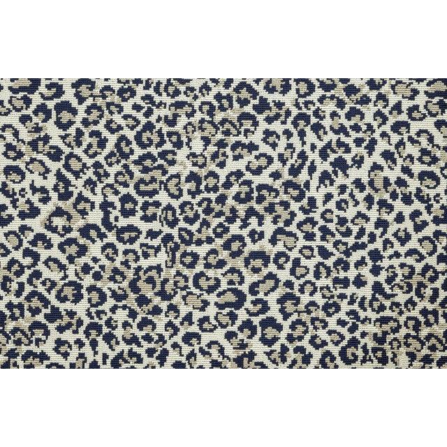 Stark Studio Rugs, Wildlife, Cobalt, 8' X 10' For Sale