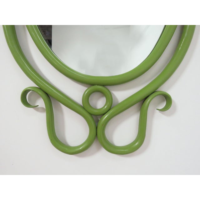 1960s Thonet Style Bentwood Wall Mirror, Circa 1960s For Sale - Image 5 of 7