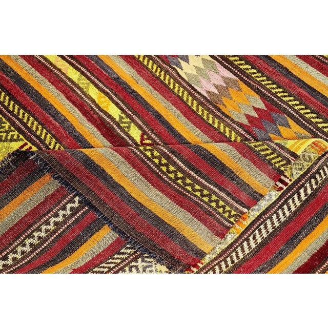 With its refined styling and inviting texture, this versatile Kilim rug is the perfect accent to your home décor. The...