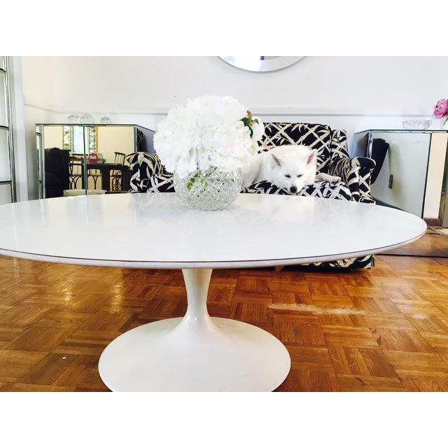 Eero Saarinen for Knoll Pedestal Coffee Table - Image 2 of 6