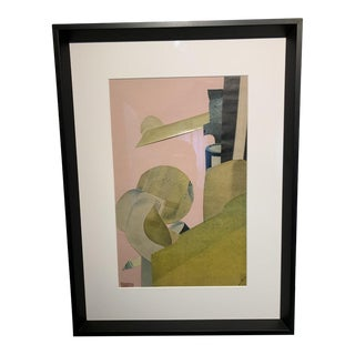 Anna Walinska, Original 1973 Abstract Collage For Sale